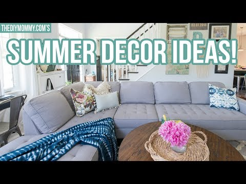 5 DECORATING IDEAS FOR SUMMER