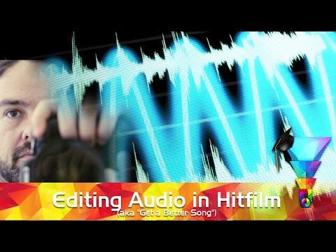 Essential Hitfilm 04 - How to Edit Audio in Hitfilm