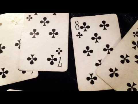 Игральные карты. Масть Треф.