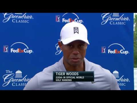 Tiger Woods expectations at The Greenbrier Classic 2015