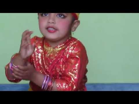 Amazing Nepali Dance by 3 Years Baby