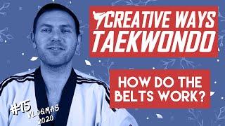 taekwondo belt colours (WT style)