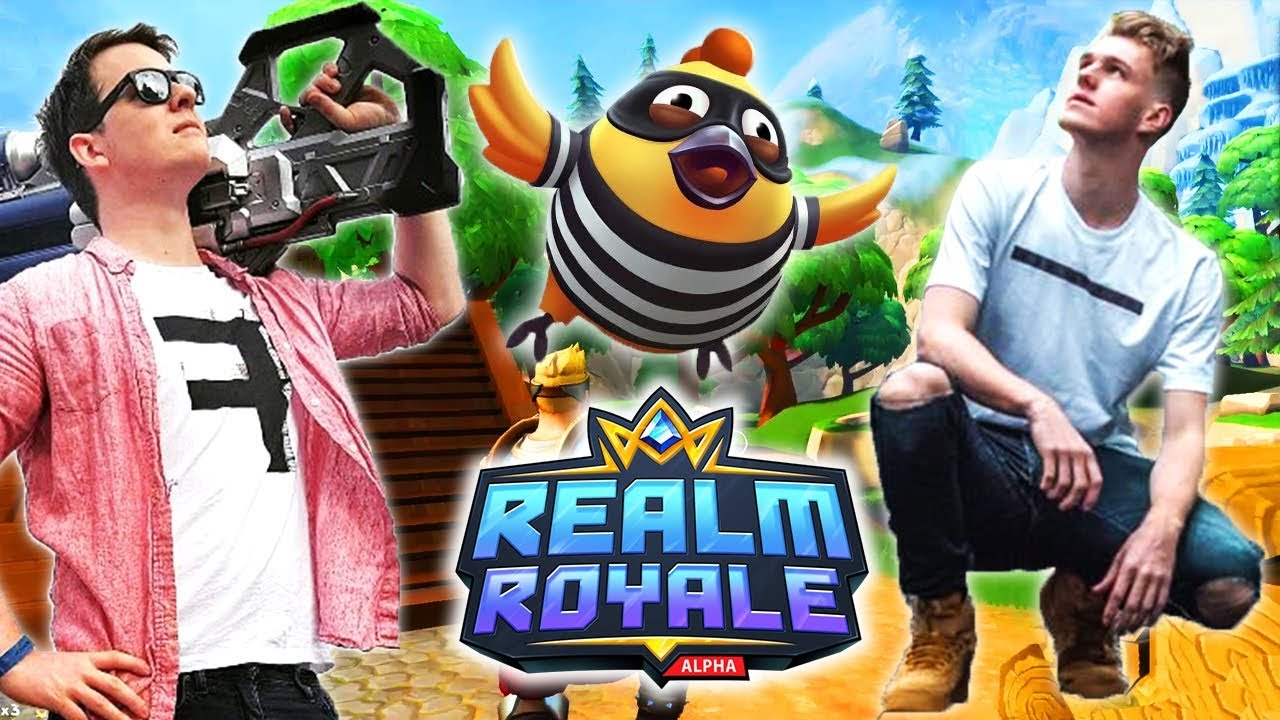 Muselk and Lachlan *DUO* in Realm Royale!