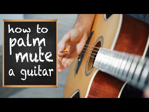 Guitar Palm Muting and Strumming