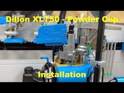 Dillon XL750 - Powder Sensor - Cop - Installation   Pt 7