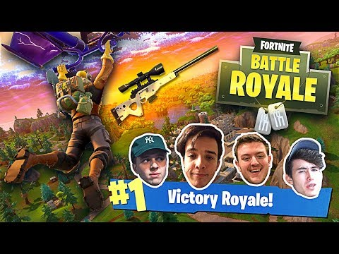 WE GOT OUR FIRST WIN! (SoaR House Plays Fortnite Battle Royale)