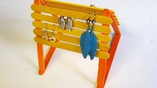 Easy & Inexpensive Diy: Popsicle Sticks Jewelry Holder
