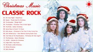 Classic Rock Christmas Music | Best Rock Christmas Songs | Merry Christmas