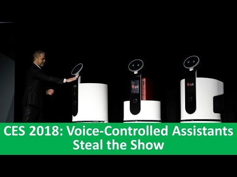 Learn English with VOA News - CES 2018: Voice-Controlled Assistants Steal the Show