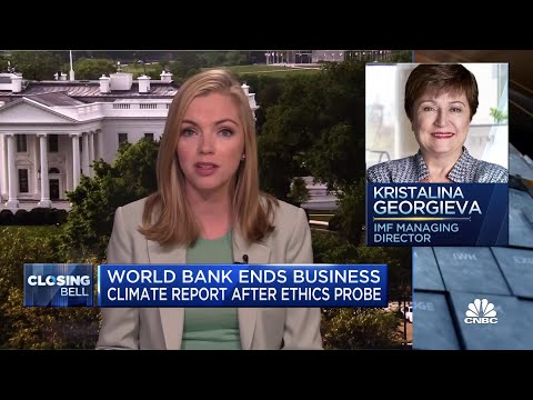 World Bank discontinues influential report following ethics probe