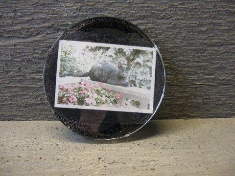 Photo Resin Coaster Craft Tutorial