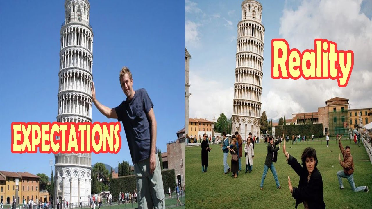 EXPECTATIONS Vs REALITY Places In The World YouTube - 20 photos that sum up your travel expectations vs reality