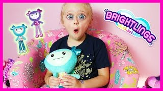 Barbie and Brightlings Dolls Toy Review in Play Doh Girls Bedroom W/ Hottest Christmas Toys of 2016