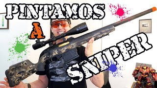 Pintei Minha Sniper Airsoft AMOEBA STRIKER AS01 by Luiz Rider