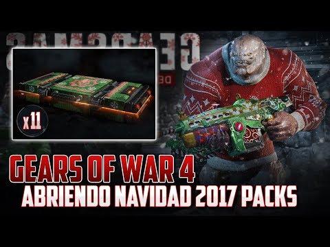 Gears of War 4 | Abriendo Packs de Navidad 2017 - ¿Regresó?