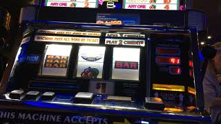 Old school slot ten time pay machines play+with line hit !!!