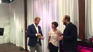 BACKSTAGE: Wie man zum Gast im letzten CouchClub mit Julia von Cube und Philipp Simon wird? Laufen!