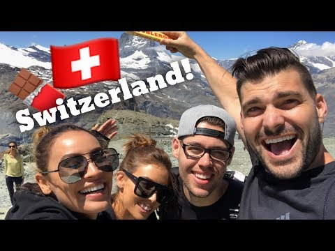 THE SQUAD GOES TO SWITZERLAND | LUSTRELUX