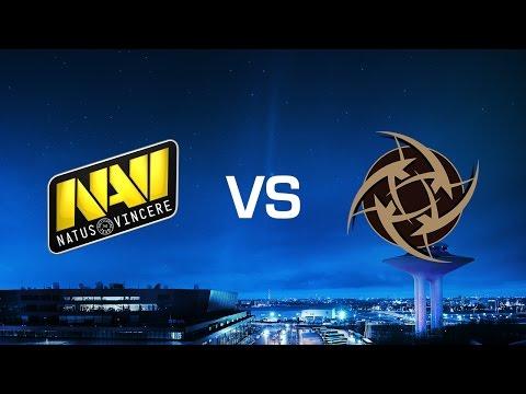 Na'Vi vs. Ninjas in Pyjamas - Dust2 - Game 1 - Grand-final - DreamHack Masters Malmö 2016