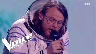 Radiohead - No Surprises | Guillaume | The Voice 2018 | Lives