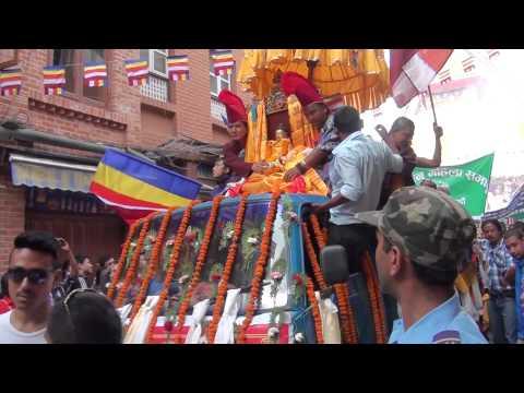 Buddha Jayanti Festival 2013, At Boudha, Kathmandu, Nepal. HD