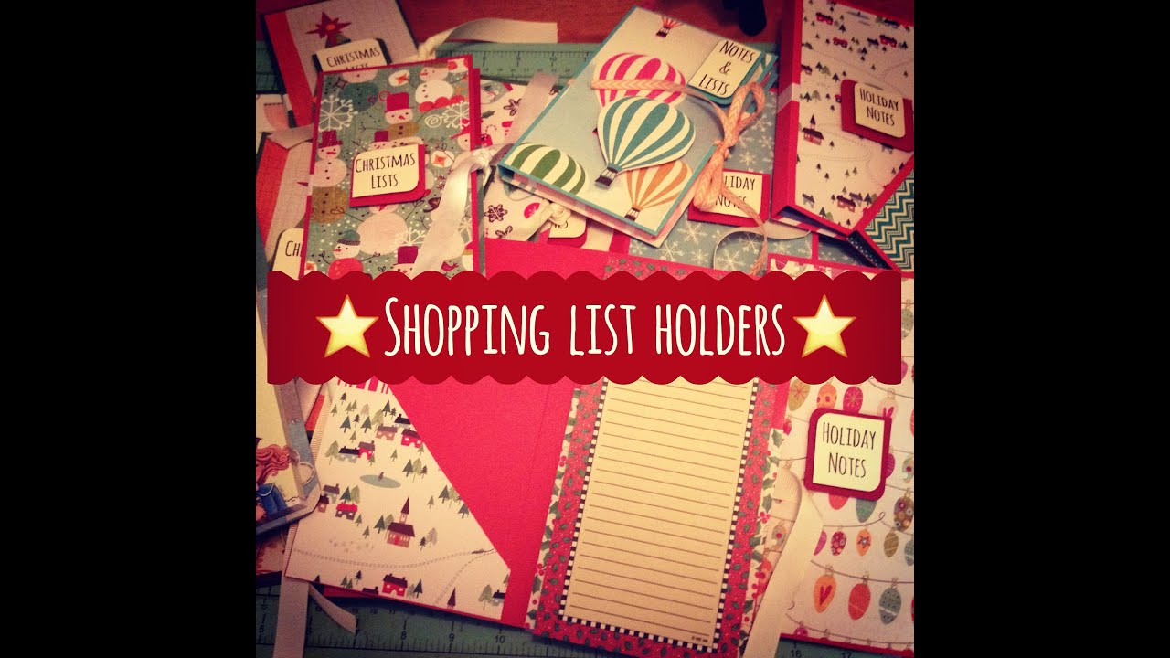Craft fair idea 8 shopping list holders 2015 for Sewing to sell at craft fairs