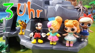 3 UHR NACHTS mit Micky Maus & LOL Surprise Dolls - Kinderfilm deutsch