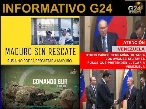 G24  #RUSIA- COMANDO SUR ALERTA MÁXIMA