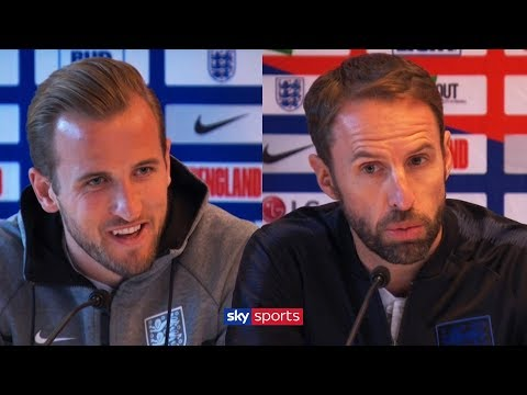 Does Harry Kane think he's one of the best players in the world? | England Press Conference