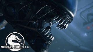 Mortal Kombat X - Alien (Чужой) - ТРЕЙЛЕР