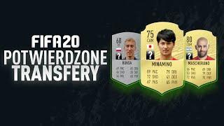 FIFA 20 | Pierwsze, zimowe POTWIERDZONE TRANSFERY