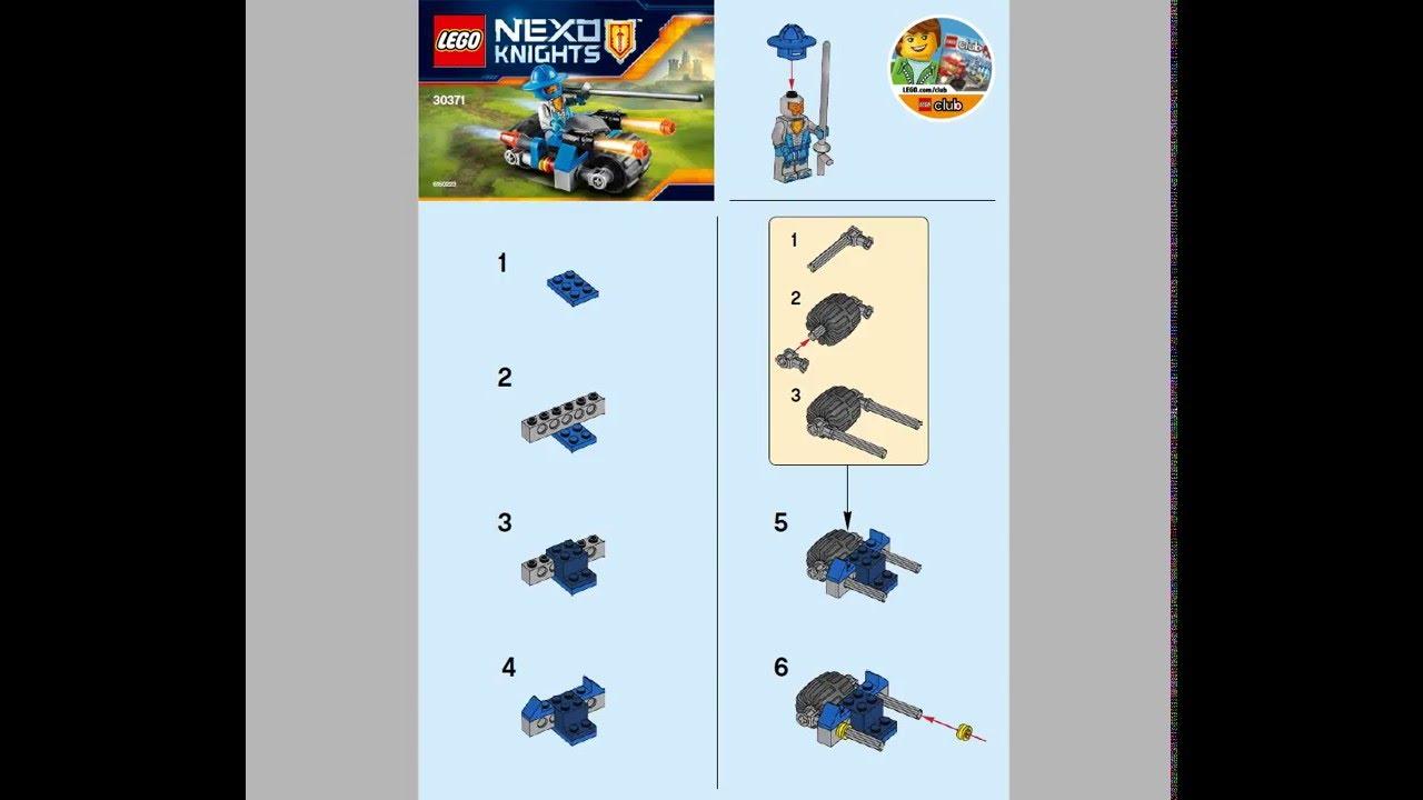 инструкция лего нексунайс