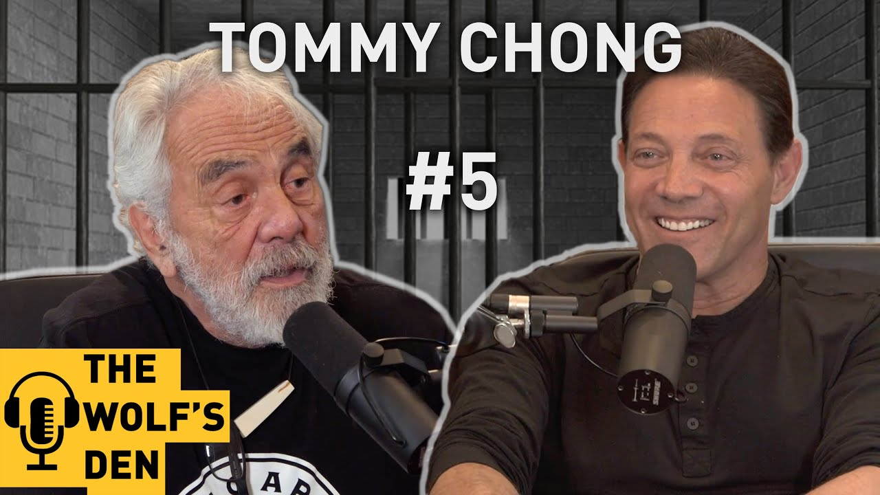 lower price with outlet store sale first look Celebrity Cellmates: The Wolf and The Chong - Jordan Belfort Wolf's Den  Podcast #5 with Tommy Chong