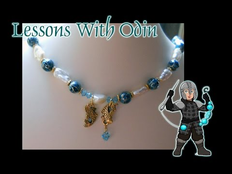 Lessons With Odin: Pearl Knotting Jewelry Tutorial