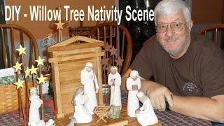 Diy Willow Tree Nativity Scene