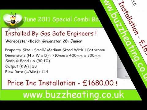 Combi Boiler Prices June 2011.wmv