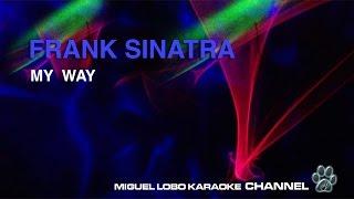 FRANK SINATRA MY WAY Karaoke Channel Miguel Lobo