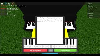 Roblox Piano | Say Something - Big World