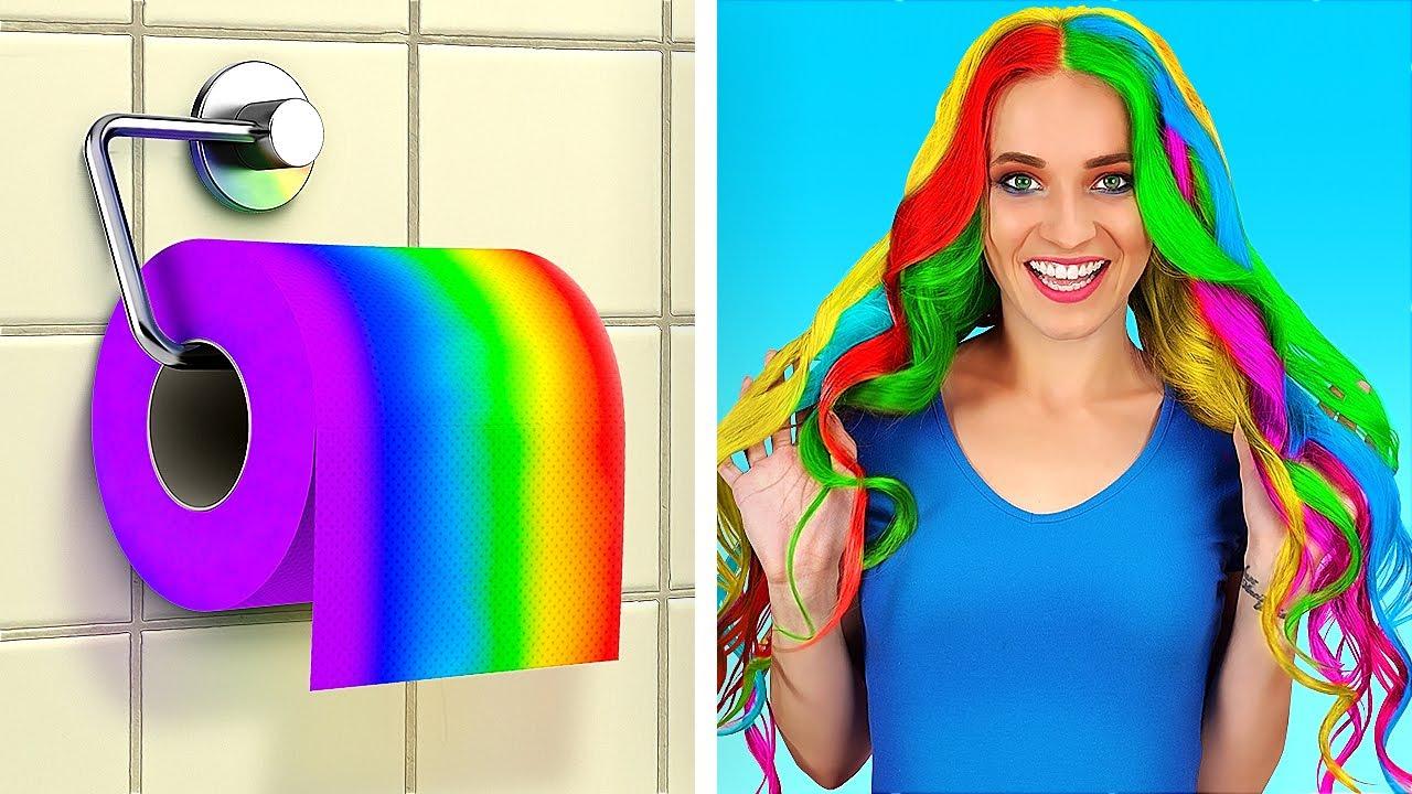 超瘋狂的衛生紙小訣竅 ||  123 GO! 超簡單的衛生紙DIY點子