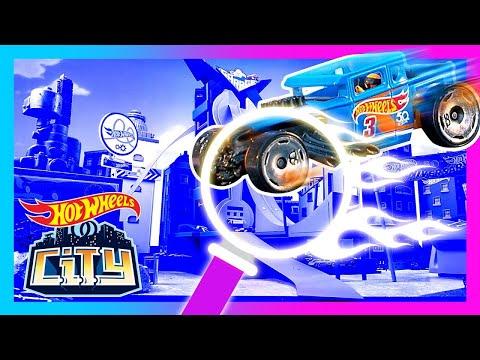 EPIC HIDDEN RACE MISSION! 🔍 🏎   Hot Wheels City   Hot Wheels