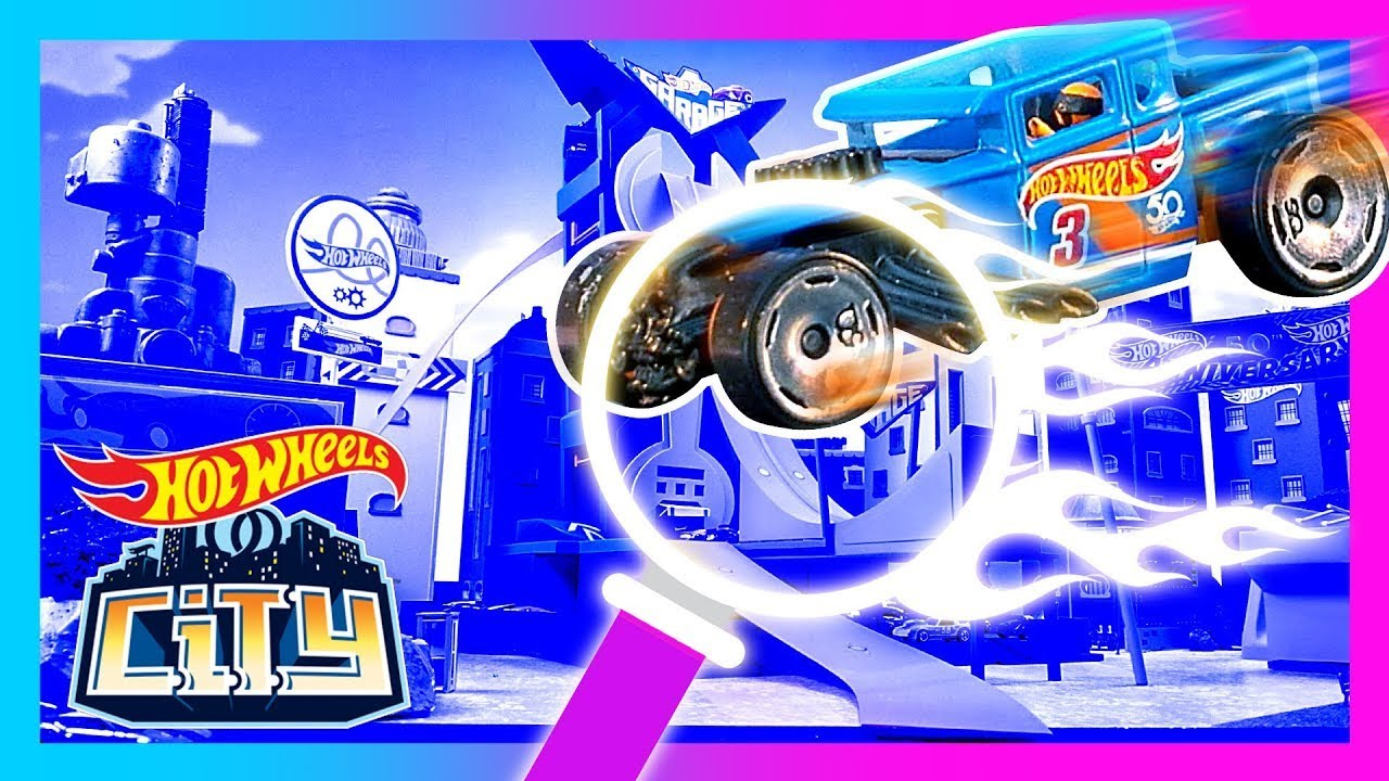 EPIC HIDDEN RACE MISSION! 🔍 🏎️ | Hot Wheels City | Hot Wheels