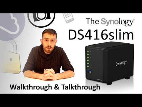 The Synology DS416Slim mini NAS Walkthrough and Talkthrough with SPAN.COM and SPANTV