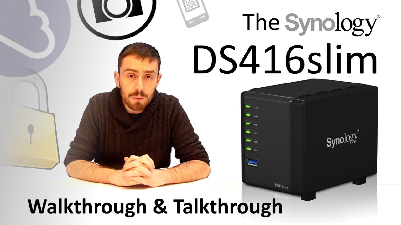 The Synology Ds416slim Mini Nas Walkthrough And Talkthrough With Span Com And Spantv Youtube
