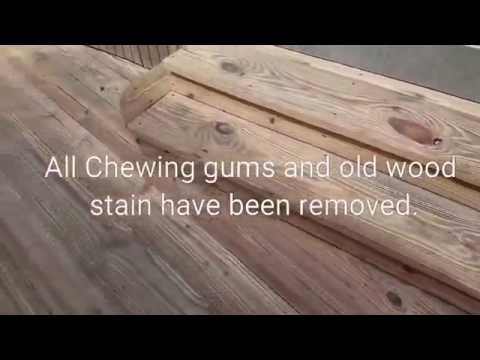 CHEWING GUM, STAIN AND DIRT REMOVAL