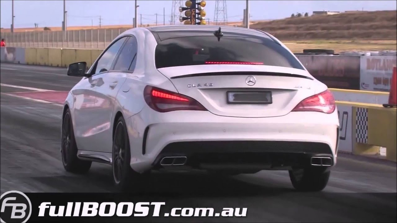46ea0f589e9b99 Mercedes Benz CLA 45 AMG drag - YouTube