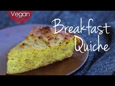 Vegan Breakfast Quiche