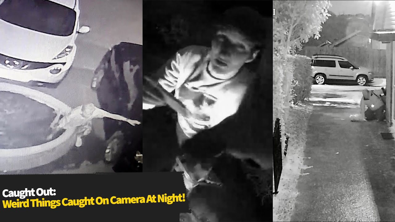 Download Top 10 STRANGEST Things Caught On CCTV At Night!