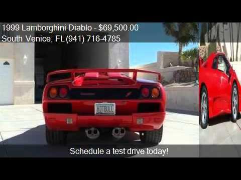 1999 Lamborghini Diablo Replica For Sale In South Venice Fl Youtube