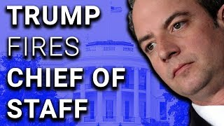 Another One: Trump Announces Firing of Chief of Staff on Twitter