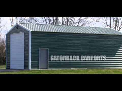 commercial quailty carports & garages for sale in the Lafayette, LA area